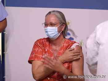 Vacinação contra Covid-19 começa no Cabo de Santo Agostinho - Folha de Pernambuco