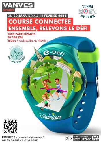 Course connectée organisée par la ville de Vanves au profit de l'association Sport et Plus - Just Focus