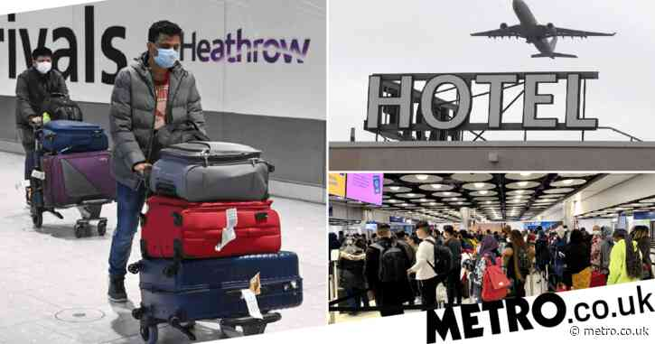 People arriving from 30 'high-risk' countries to face hotel quarantine