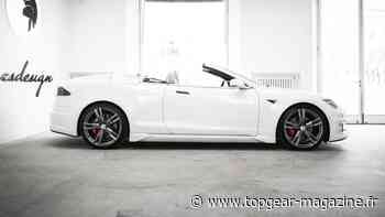 La Tesla Model S cabriolet d'Ares Design est... intéressante - TopGear - TopGear magazine France