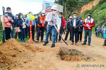 MTC inició el asfaltado de la carretera Santiago de Chuco-Mollepata en La Libertad - El Peruano