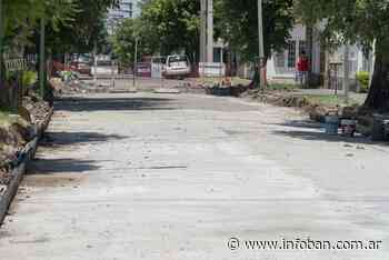 Continúa la renovación de pavimentos en Villa Adelina y Boulogne - InfoBan