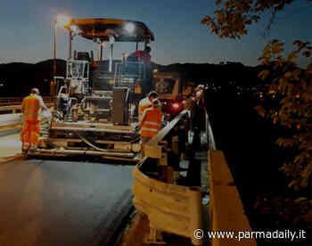 Asfaltato il ponte di Fornovo sul Taro - - ParmaDaily.it