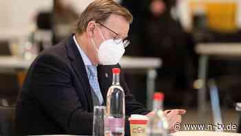 Bei Merkel entschuldigt: Ramelow will Bild von sich korrigieren