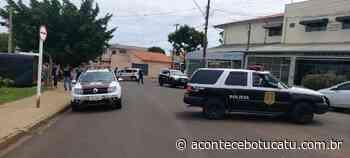 Polícia Civil de Botucatu faz reconstituição de assassinato no Monte Mor   Jornal Acontece Botucatu - Acontece Botucatu