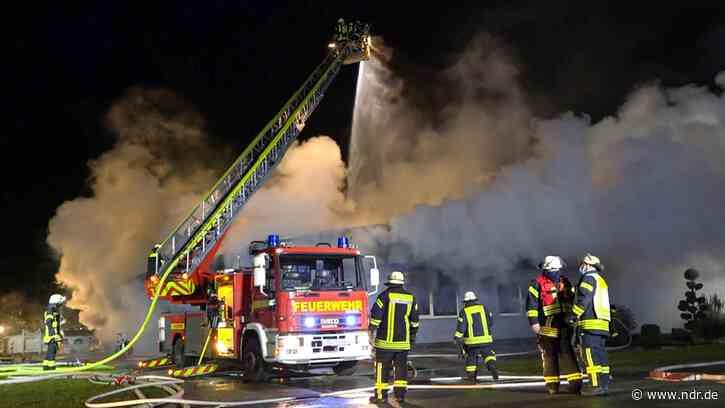 Loxstedt: Feuer in Tischlerei - eine Million Euro Schaden - NDR.de
