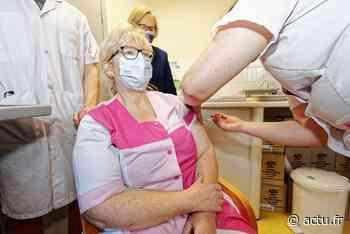Résidents et soignants ont été vaccinés à La Boiseraie de Bois-Guillaume - Normandie Actu