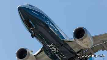 Flugzeugbauer mit Rekordverlust: Boeing 737 Max darf in Europa wieder starten