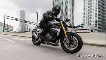 Triumph Speed Triple 1200 RS: Ab in die Spitzengruppe der Nakedbikes