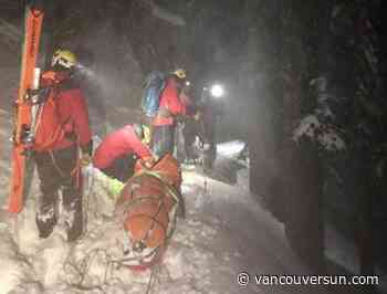 Complicated, dangerous rescue saves man caught in avalanche near Cypress Mountain resort