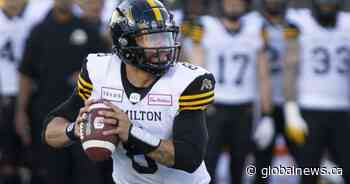 Quarterback Jeremiah Masoli signs extension with Hamilton Tiger Cats