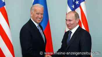Atomwaffen und Nawalny - Biden und Putin führen erstes Gespräch