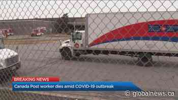 Canada Post employee dies amid COVID-19 outbreak at Mississauga facility