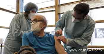 Holocaust survivors get virus vaccine on Auschwitz liberation day
