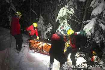 Complicated, dangerous rescue saves man caught in avalanche near Cypress Mountain