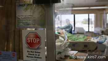 Coronavirus: Couple reunited after spending three weeks in hospital - KIRO Seattle