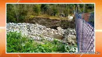 Intervienen quebrada Juan García en el municipio de Liborina - Telemedellín