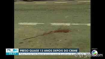Polícia Civil prende homem condenado pelo assassinato de publicitário em Volta Redonda - G1