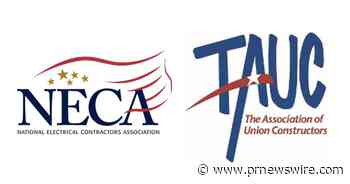NECA and TAUC Enter Strategic Alliance to Improve Construction Industry