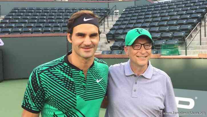 "Bill Gates on Roger Federer: ""They should take example from him"""