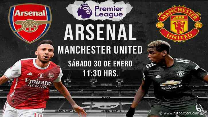Escucha en vivo AQUÍ el duelo entre Arsenal vs Manchester United