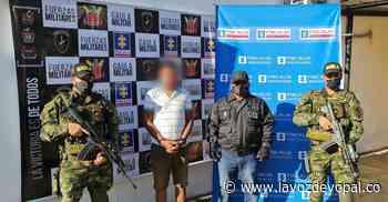 Capturado presunto extorsionista en Paz de Ariporo - Noticias de casanare - La Voz De Yopal