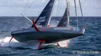 Drama bei der Vendée Globe: Weltumsegler Herrmann kollidiert kurz vor Ziel mit Boot