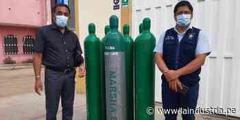 Alcalde de Ascope viaja hasta Virú para recargar oxígeno para su provincia - La Industria.pe