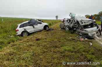 Cuatro muertos tras un choque frontal en Totoral - Cadena 3