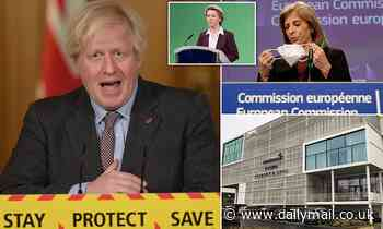No EU can't have our jabs! Boris dismisses threat as Brussels bids to snatch 75m doses made in UK