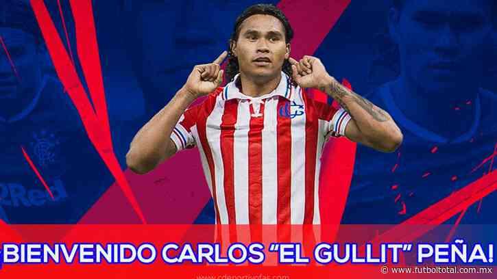 Club Deportivo FAS le da la bienvenida a Gullit Peña