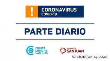 Parte de Salud Pública sobre coronavirus Nº330 - 27/01 - SI SAN JUAN