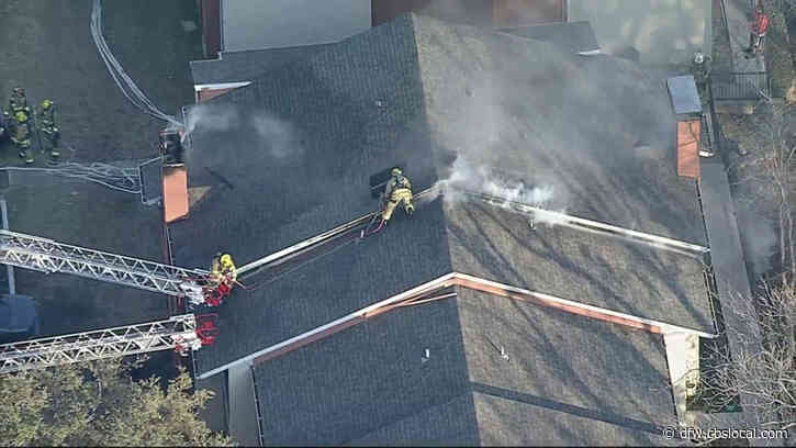 Firefighters Battle Apartment Fire In Northwest Dallas