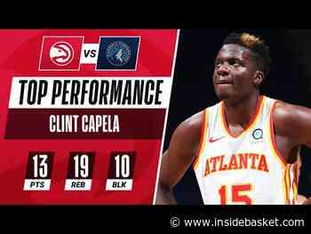 Un triple double avec 10 contres pour Clint Capela - Inside Basket
