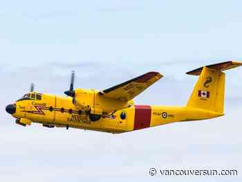 Search suspended for downed plane in Juan de Fuca Strait south of Victoria