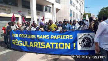 Choisy-le-Roi : manifestation de travailleurs sans-papiers - 94 Citoyens