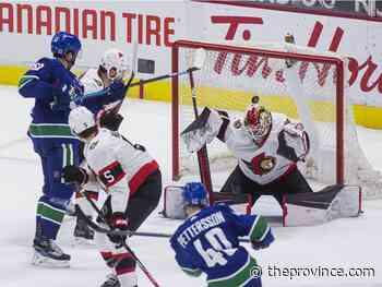 Canucks 5, Senators 1: Miller finally drives Lotto Line, Demko staking his claim