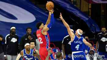 Sixers star Tobias Harris' game-winner earns him big props from Lakers legend