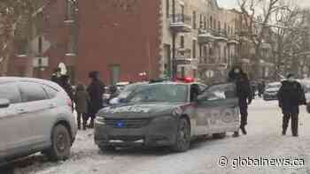 Montreal police break up three large religious gatherings in Outremont in under 24 hours | Watch News Videos Online - Globalnews.ca