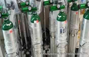 Ayudan paisanos con oxígeno a sus familias - Noticias de San Luis Potosí - Quadratín San Luis