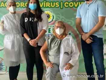 Abreu e Lima inicia campanha de vacinação da Covid-19 - Folha de Pernambuco
