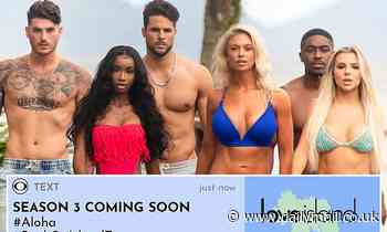 Love Island USA gets renewed for a third season: 'We're Saying Aloha to Hawaii'
