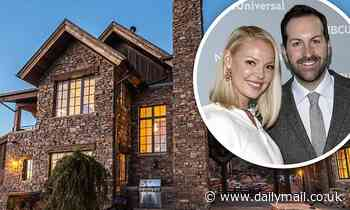 Katherine Heigl puts stone-faced Rocky Mountain ranch in Utah on the market for just under $4million