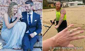 Couple hire Sydney treasure hunter to track down valuable wedding ring lost at the beach