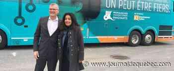 Tournée en bus à 250 000$ pour Investissement Québec