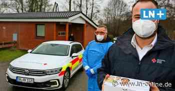 Corona: So läuft es im Schnelltestzentrum für Feuerwehrleute aus Ratekau und Scharbeutz - Lübecker Nachrichten