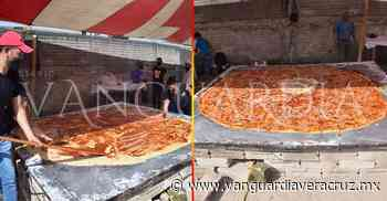 Cordobahace 1 mes . Rompen el récord de la garnacha más grande del mundo, en Altotonga - Vanguardia de Veracruz