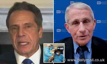 Governor Cuomo is mocked for blaming 'incompetent government' for COVID deaths