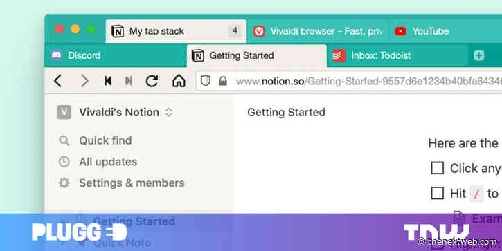 Vivaldi is introducing two-level tabs — and I want it in every browser