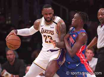 Detroit Pistons game vs. Los Angeles Lakers: Time, TV, more info